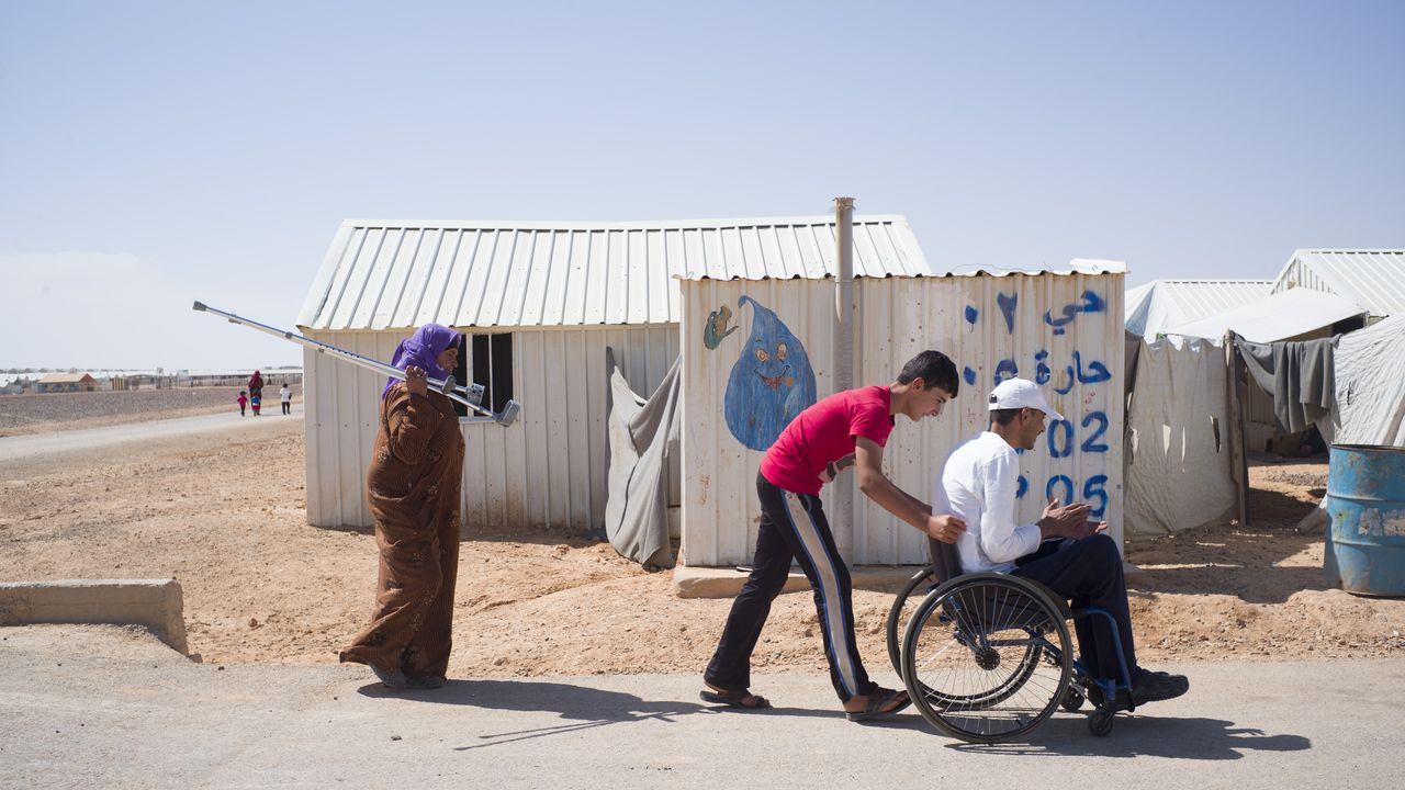 Mohammed, Azraq Camp