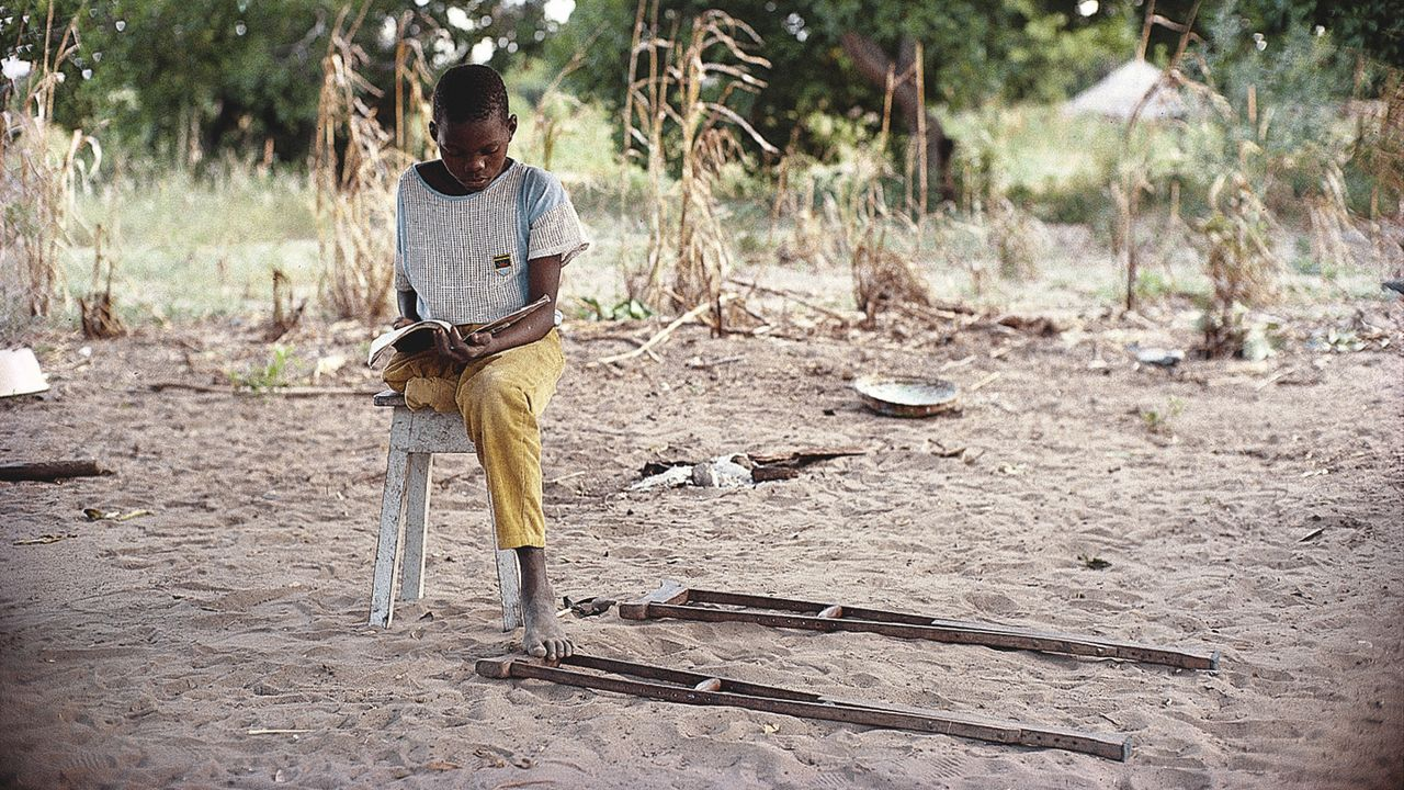Mozambique, un enfant victime d'un accident par mine