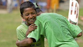 Inclusive sport for children in Bangladesh with the UEFA Foundation