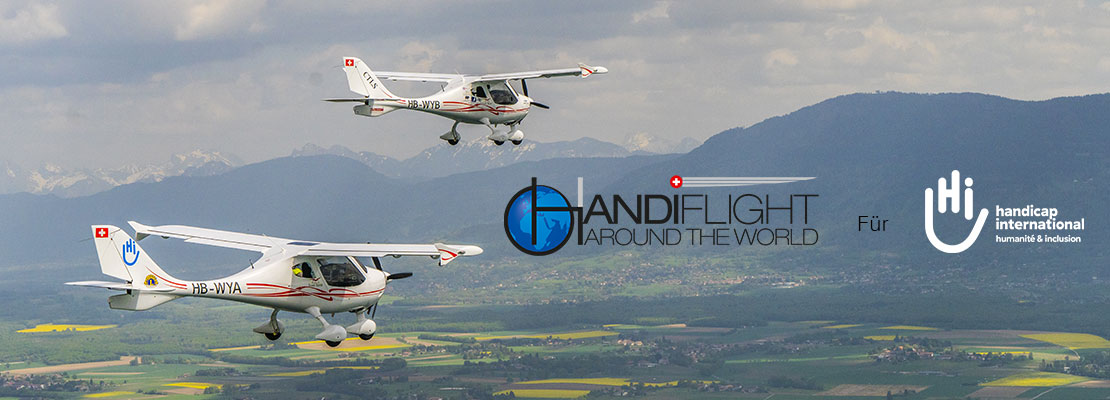 Handiflight Around the World für Handicap International