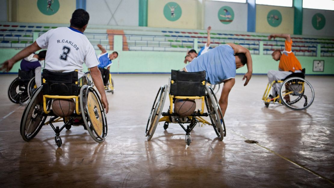 Wheelchair basketball, HI Algeria