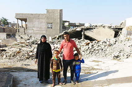 Mosul famille stop bombing civilians